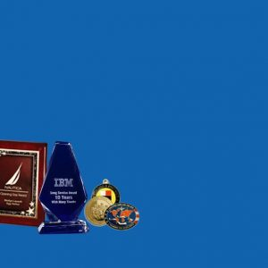 Why does the organization require custom awards?
